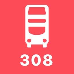 My London TFL Bus Times - 308
