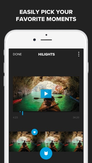 Splice - Video Editor + Movie Maker by GoPro Screenshot