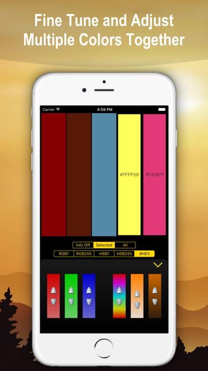Color Mixer, Palette Maker