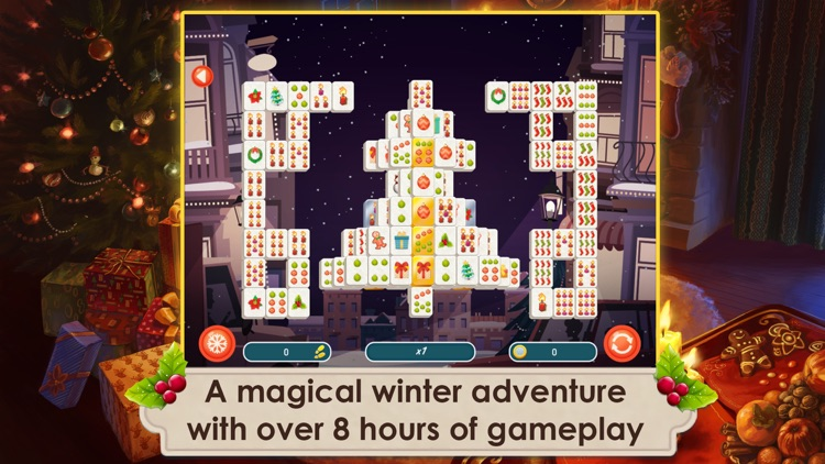 Mahjong Christmas 2 Free screenshot-1