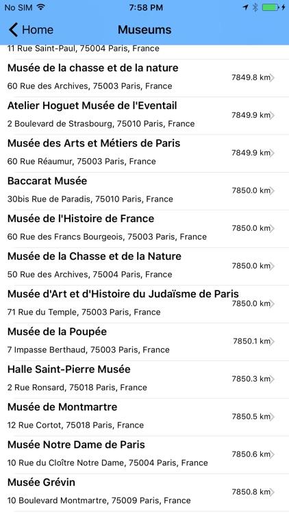 Paris Guide - Totally Offline