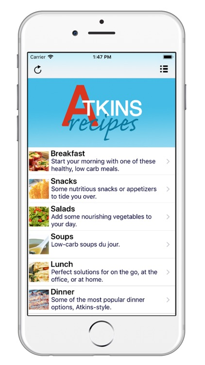 101+ Atkins Diet Recipes screenshot-0