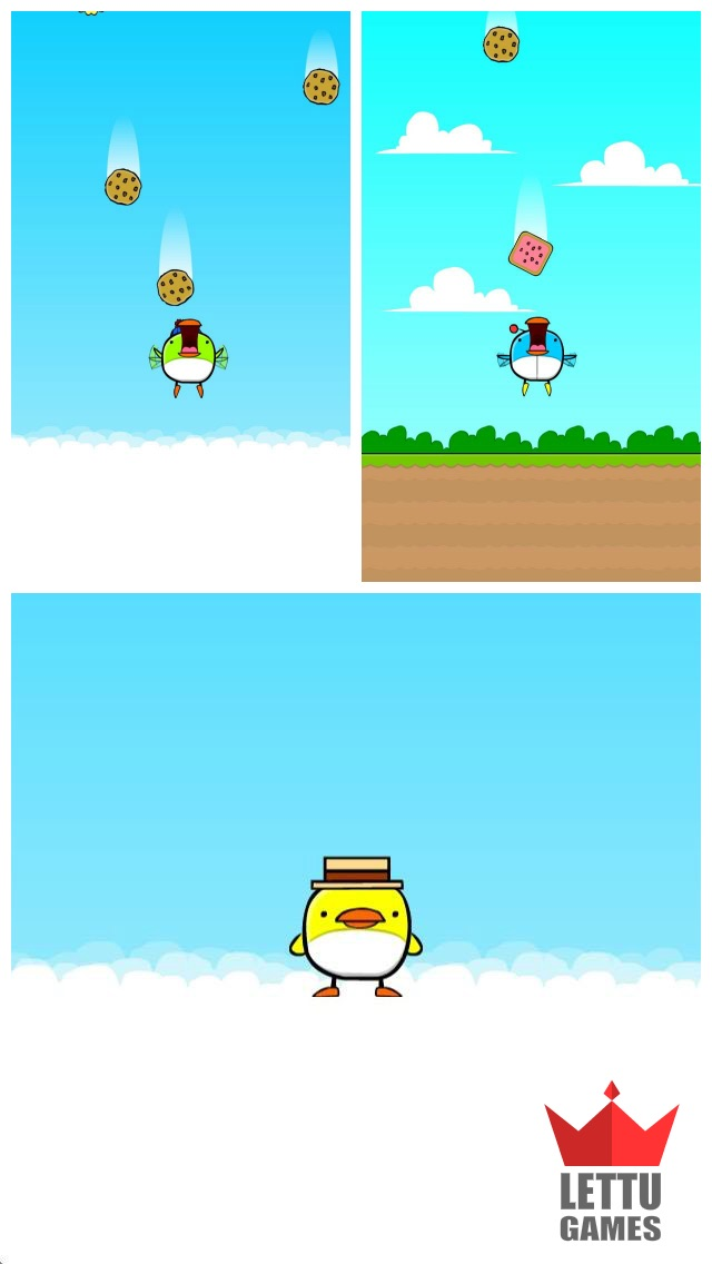 Cookie Bird Fall Screenshot