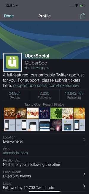 UberSocial on the App Store