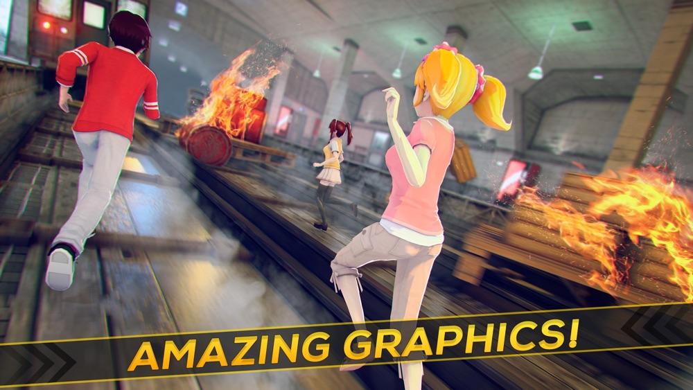 Anime Dream | My Cute Manga Girl Run Game For Free hack tool