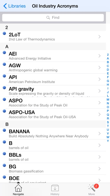 5,000 Oil and Gas Terms and Acronyms screenshot-4