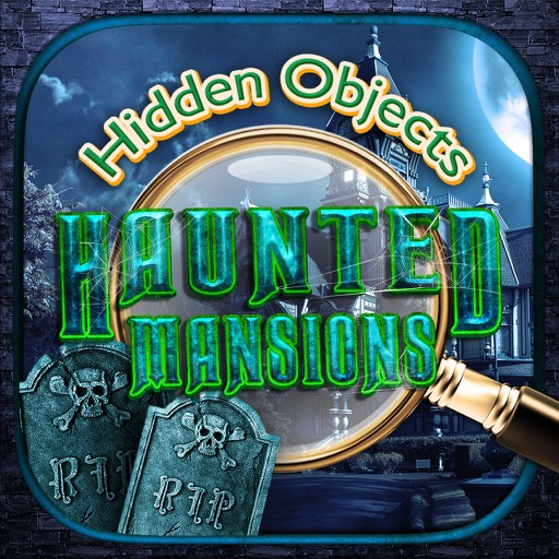 Haunted Mansions Hidden Object – Spot Objects Game