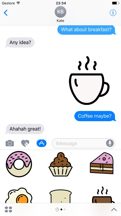 Coffee Party Stickers