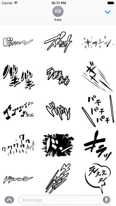 Manga-Stickers