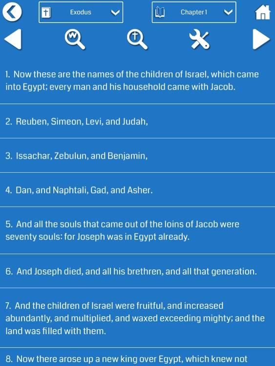 English Bible for iPad