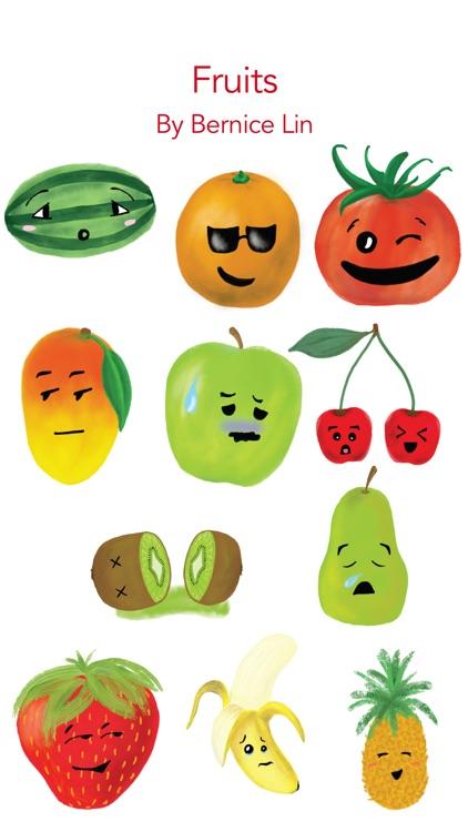 Fruits by Bernice Lin