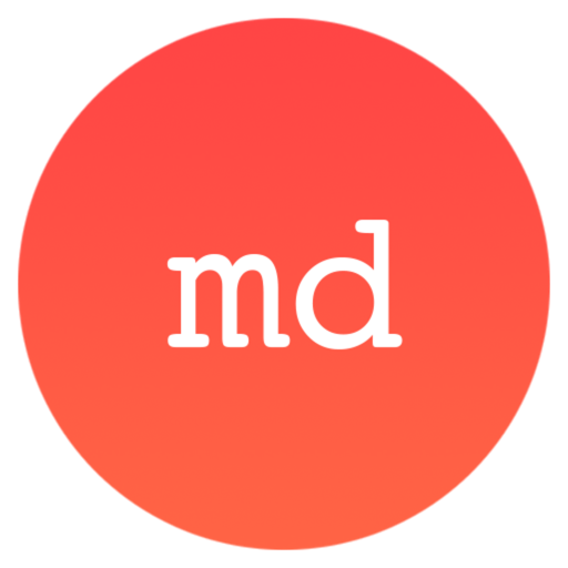 md - Markdown writing App