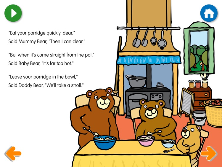 Goldilocks and the Three Bears Come Alive Stories