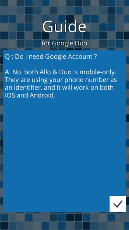 Guide for Google Duo