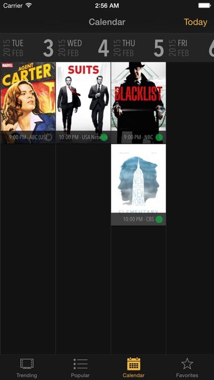 Seasons - TV Shows Tracker screenshot-3