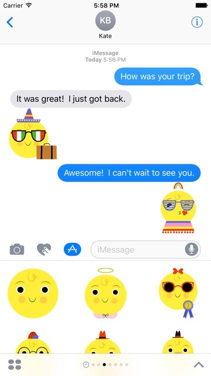 Emoji Pals - Skye stickers