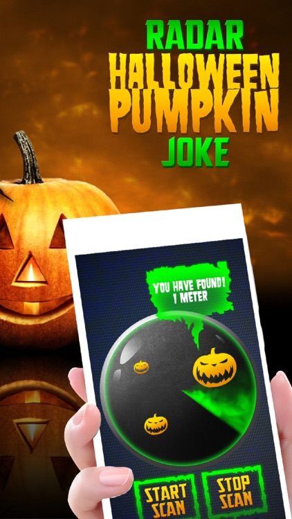 Radar Halloween Pumpkin Joke