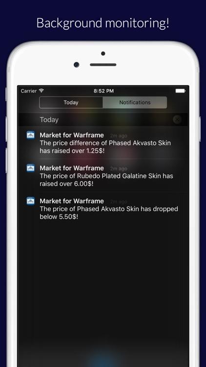 Market for Warframe screenshot-3