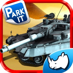 Tank Parking Blitz Race with Heavy Army Trucks, Missile launcher and Tanks