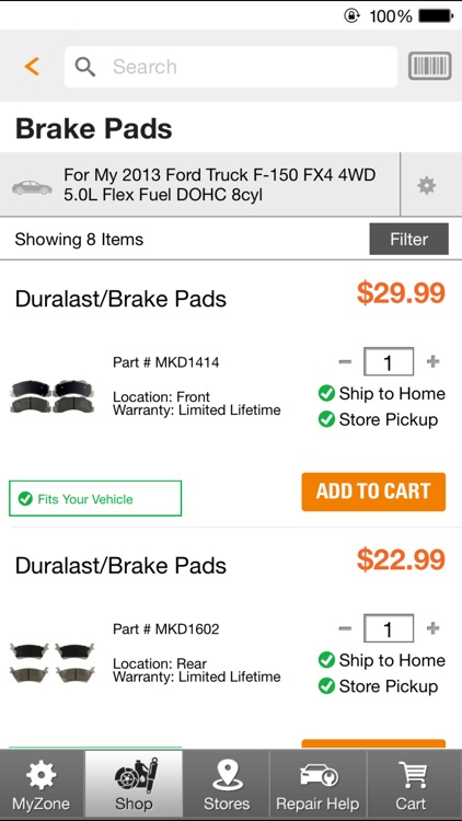AutoZone screenshot-1