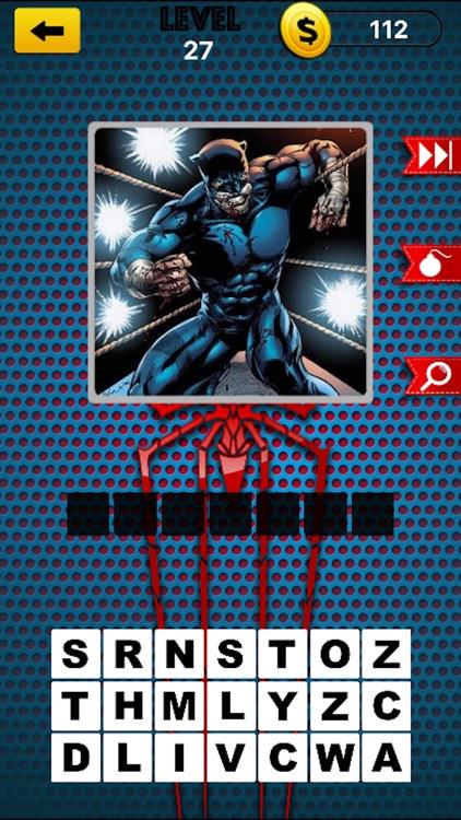 Comic Super Hero Trivia Quiz 2 - Guess Your Superheros and Super Villains screenshot-3