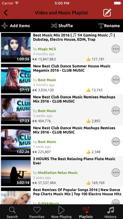 NetTube Video Music Player & Playlist Manager screenshot-3
