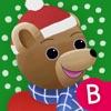 Le calendrier de l'Avent de Petit Ours Brun - l'imagier de Noël - iPadアプリ
