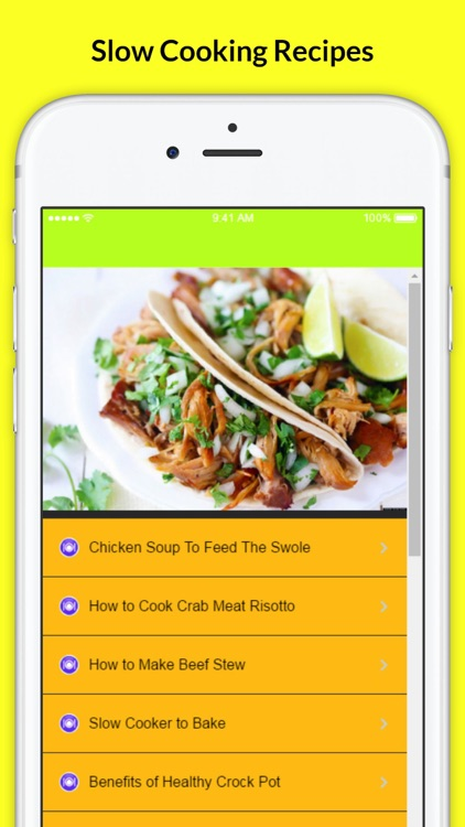 A+ Delicious Slow Cooking Recipes screenshot-3