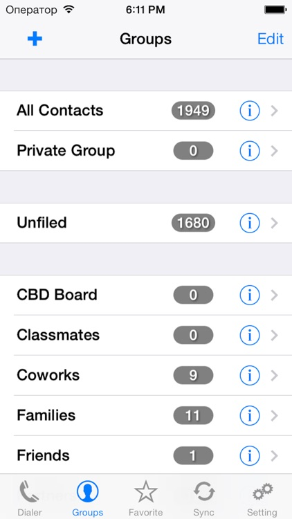 iContactsPro+ - Advanced Contact & Group Manager screenshot-3