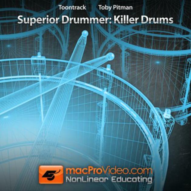 Creating realistic drum rolls (superior drummer 2 advanced vol 3.
