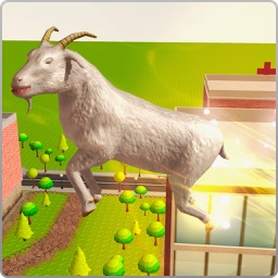 Flying Angry Goat Simulator 3D