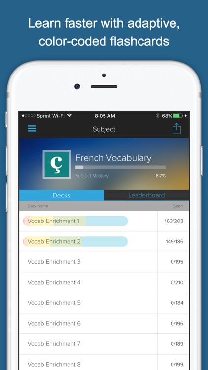 Learn French Vocab!