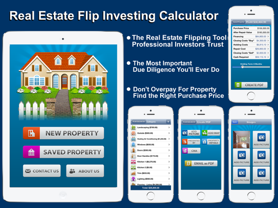 Real Estate Flip - Investing Calculator screenshot