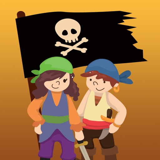 Pirate Message Stickers