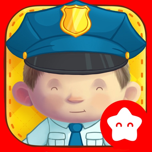 Dress Up : Professions - Occupations puzzle game & Drawing activities for preschool children and babies by Play Toddlers (Full Version for iPad)