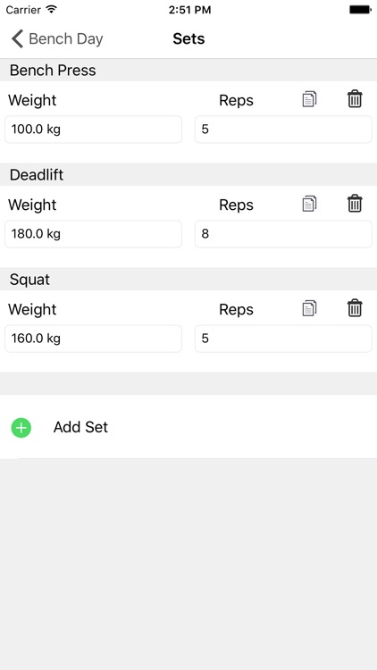 LiftLog - Workout Log screenshot-3