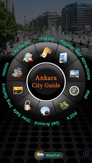 Screenshot for Ankara Offline Map Travel Guide in Azerbaijan App Store