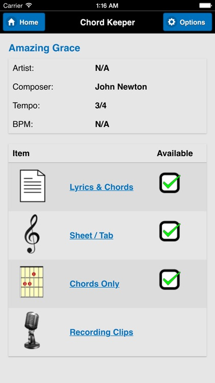 Chord Keeper screenshot-0