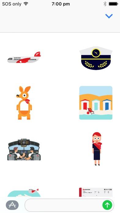Qantas Stickers-1