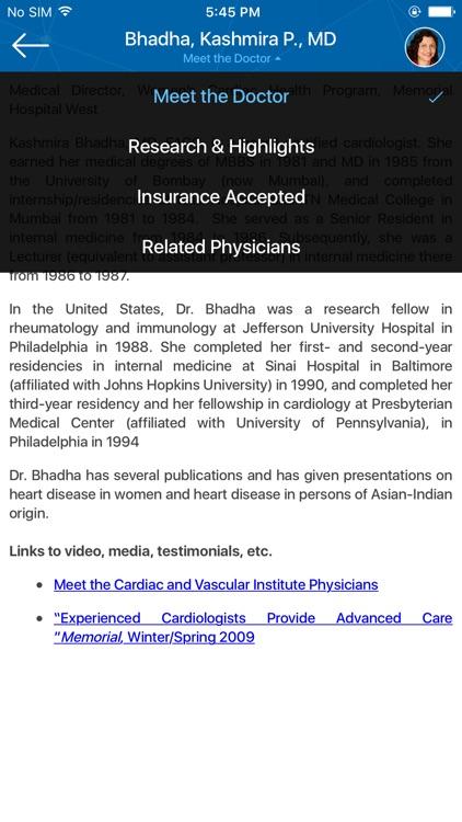 Memorial Physician Group screenshot-3