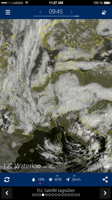 Niederschlagsradarのおすすめ画像2