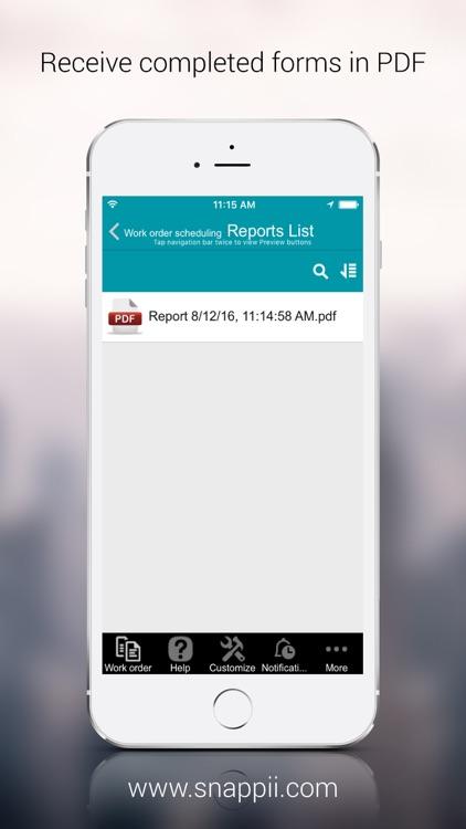 Work order scheduling screenshot-3
