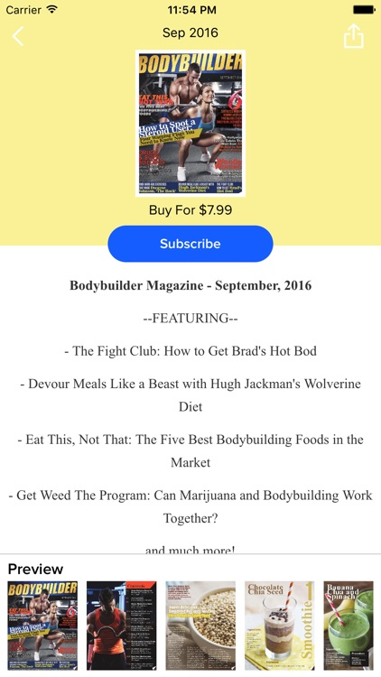 Body Builder Magazine