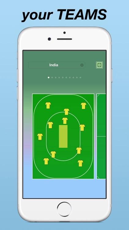 Team Lineup PRO Soccer screenshot-4