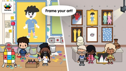 Screenshot for Toca Life: After School in United States App Store