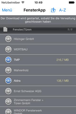 FensterApp - FeMoSo screenshot 2