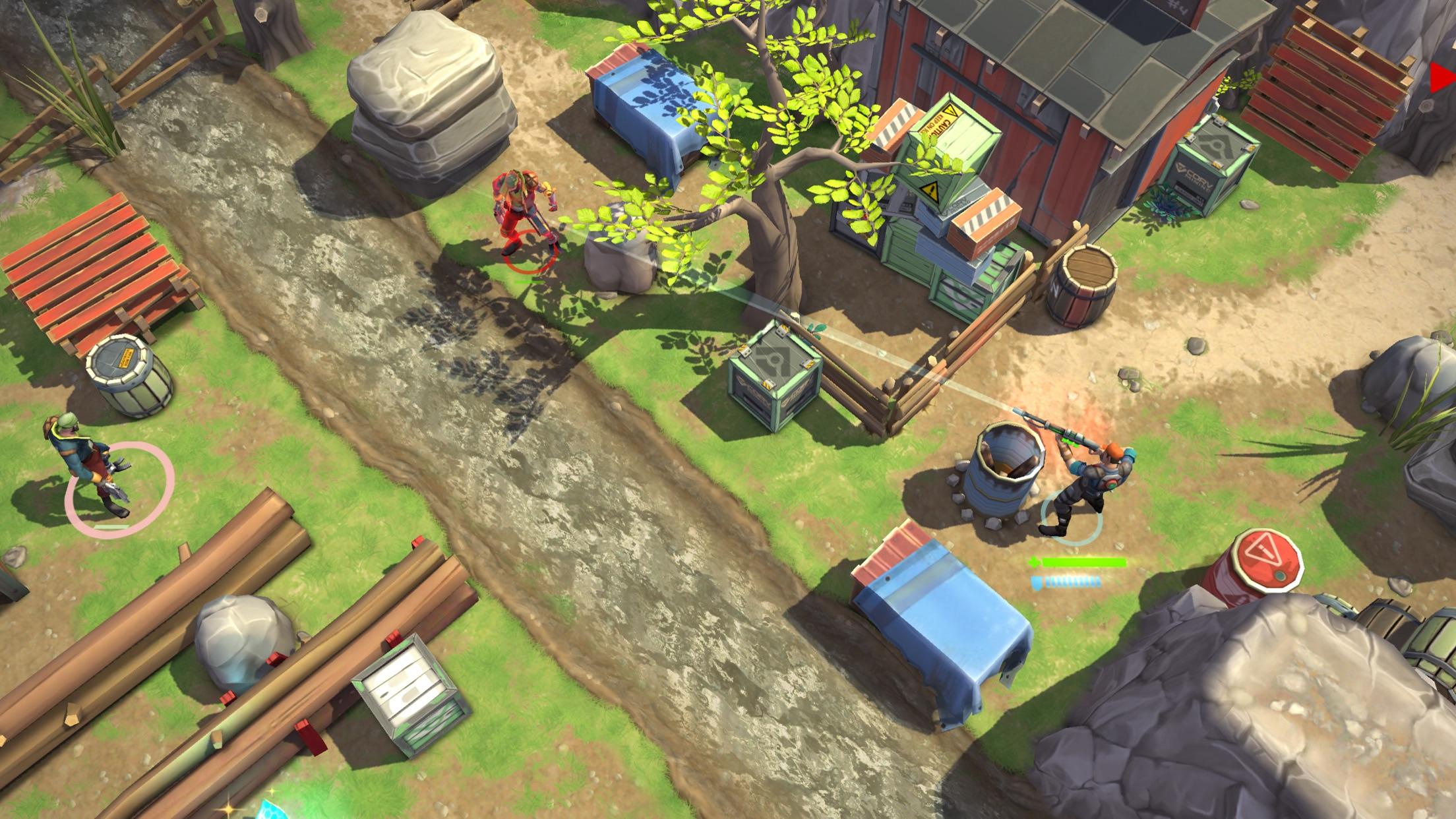 Screenshot do app Space Marshals 2