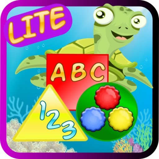 ABC Numbers Shapes Colors LITE