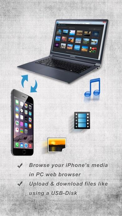 iMediaOut - Easy file transfer Screenshots