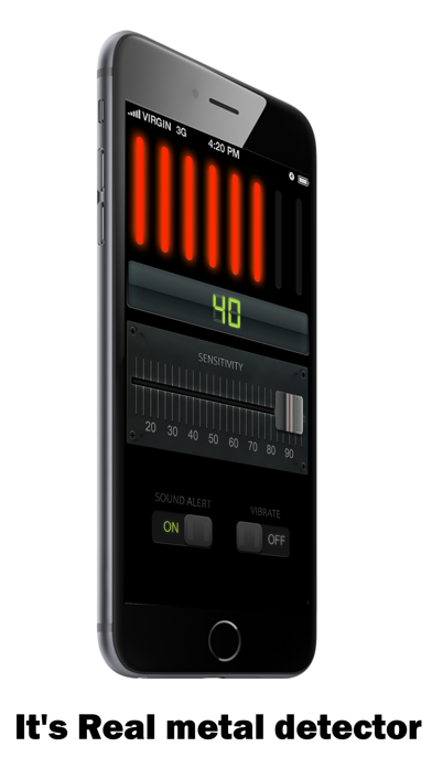 Hand Held Metal Detector by Tigran Mkhitaryan (iOS, United